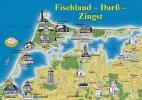 Postkarten Fischland – Darß – Zingst