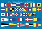 Postkarten Flaggenalphabet 02