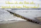 """Postkarten """"Wenn ich die See seh, ..."""" 02"""
