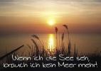 """Postkarten """"Wenn ich die See seh, ..."""" 03"""
