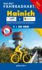 Pocket-Fahrradkarte Hainich