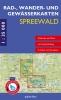 Rad-, Wander- und Gewässerkarten-Set Spreewald