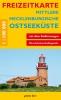 Freizeitkarte Mittlere Mecklenburgische Ostseeküste