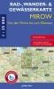 Rad-, Wander- und Gewässerkarte Mirow
