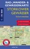 Rad-, Wander- und Gewässerkarte Storkower Gewässer - Scharmützelsee