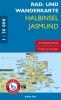 Rad- & Wanderkarte Halbinsel Jasmund