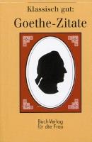 Goethe-Zitate