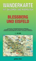 Wanderkarte Bleßberg und Eisfeld