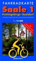 Fahrradkarte Saale 1: Fichtelgebirge-Saaldorf