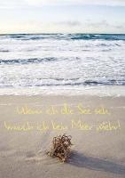 """Postkarten """"Wenn ich die See seh, ..."""" 01"""