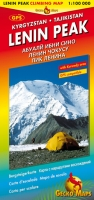 Pik Lenin – Bergsteigerkarte