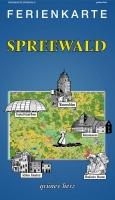 Ferienkarte Spreewald gefaltet
