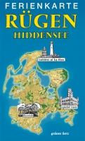 Ferienkarte Rügen & Hiddensee gefaltet