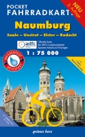 Pocket-Fahrradkarte Naumburg, Saale-Unstrut-Elster-Radacht