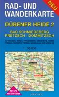 Rad- & Wanderkarte Dübener Heide 2