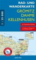 Rad- & Wanderkarte Grömitz, Dahme, Kellenhusen