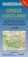 Wanderkarte Greiz – Vogtland