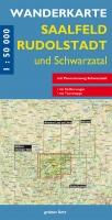 Wanderkarte Saalfeld, Rudolstadt und Schwarzatal