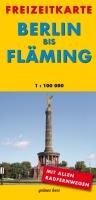Freizeitkarte Berlin bis Fläming