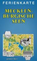 Ferienkarte Mecklenburgische Seen gefaltet