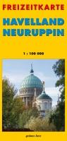 Freizeitkarte Havelland - Neuruppin