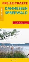 Freizeitkarte Dahmeseen, Spreewald