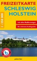 Freizeitkarte Schleswig-Holstein