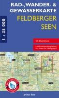 Rad-, Wander- und Gewässerkarte Feldberger Seen