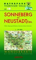 Wanderkarte Sonneberg und Neustadt/Cbg.
