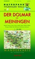 Wanderkarte Der Dolmar und Meiningen