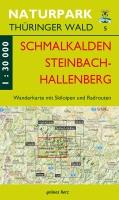 Wanderkarte Schmalkalden, Steinbach-Hallenberg