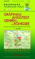 Wanderkarte Gräfinau-Angstedt, Gehren, Königsee
