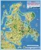 Ferienkarte Rügen & Hiddensee gerollt