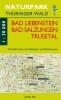 Wanderkarte Bad Liebenstein, Bad Salungen, Trusetal