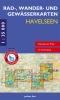 Rad-, Wander- und Gewässerkarten-Set Havelseen 1–4