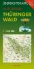 Übersichtskarte Naturpark Thüringer Wald