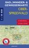 Rad-, Wander- und Gewässerkarte Oberspreewald