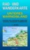 Rad- & Wanderkarte Unteres Warnowland