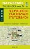 Wanderkarte Schmiedefeld, Frauenwald, Stützerbach