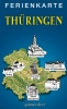 Ferienkarte Thüringen gefaltet