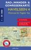 Rad-, Wander- und Gewässerkarte Havelseen 4: Wannsee, Tegeler See