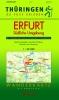 Wanderkarte Erfurt – südliche Umgebung